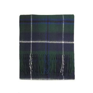 Made in Scotland by Lochcarron 100/% Lambswool Taylor Ancient Tartan Clan Scarf /& Gift Wrap
