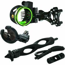 Apex Accu-Strike Pro Select Bow Sight 5-Pin .019 Black NIB AG1515BKS