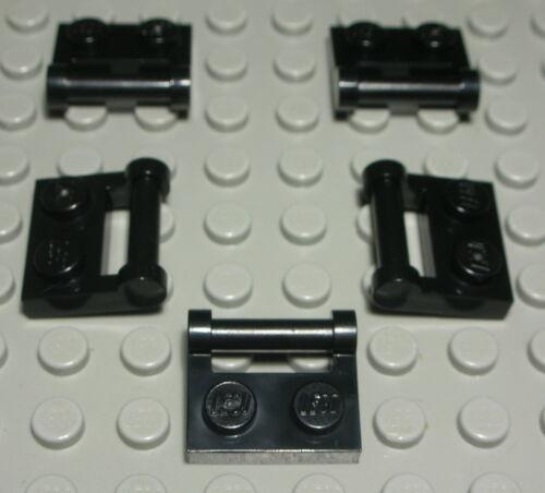 2189 Lego Platte mit Griff 1x2 Schwarz 5 Stück