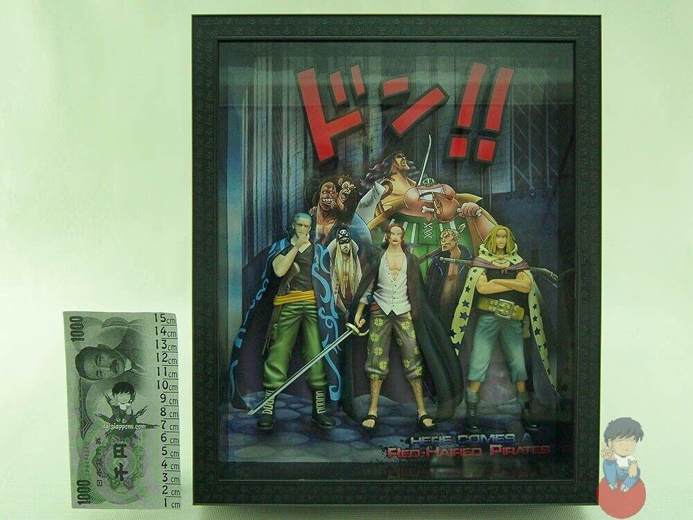 One Piece Episode Frame 3D Sentinel Figure - Shanks, Yasopp, Benn Beckman