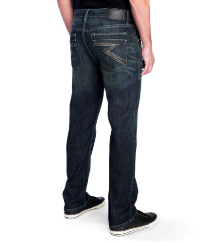 ROCK /& REPUBLIC Mens ULTRA COMFORT DENIM Jeans STRAIGHT Stretch DISCONTINUED NWT