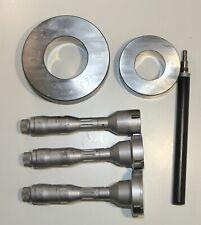 Swiss Tesa Tri O Bor Three Point Internal Micrometer Metric Set 90 120 Mm 0002
