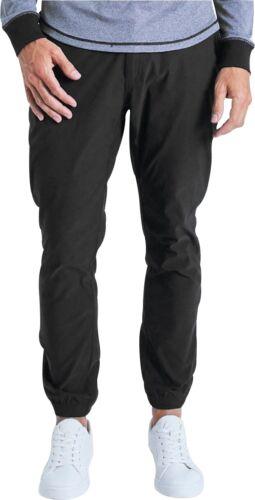 Black Ohmme Voyager Mens Yoga Pants