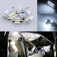 Premium 6K White Interior LED Light Package Bulb For Honda Civic Sedan Coupe