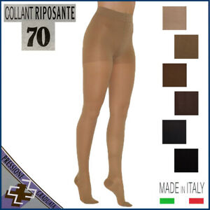 Collant-70-DEN-a-compressione-graduata-media-13-17-mmHg-calze-riposanti-denari