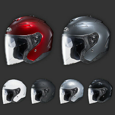 HJC IS-33 II Niro Open Face Helmet Black