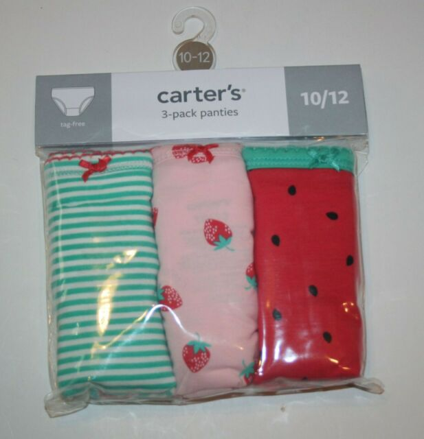 New Carter/'s 3 Pack Underwear Girls Panties NWT 2 3 6 6X 8 10 12 14 Yr Unicorns