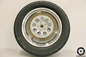 2003 Suzuki Marauder 800 Vz800 Front Wheel Rim Tire W Brake Rotors