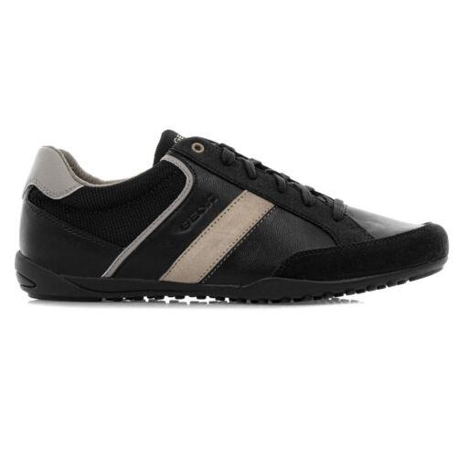 Geox U Garlan B Messieurs Chaussures Hommes Chaussures De Sport Chaussures Casual Black u023gb-cf4h6