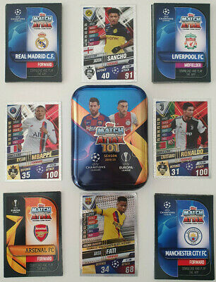 2020 Match Attax 101 Soccer Cards All cards inc Shiny Choose Buy 4 Get 6 FREE