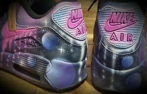 Nike Air Max 90/Custom Painted/Purple