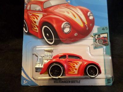 Hot Wheels Tooned Volkswagen Beetle 107//365 Red HW Series Diecasts Hot Wheels VW Volkswagen Variations 1//64 Scale Die Cast Cars