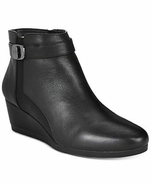 Giani Bernini Celinaa Wedge Booties WOMEN BLACK
