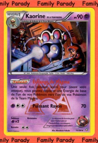 Kaorine HOLO 90pv 11//34 Carte Pokemon Rare Double Danger Team Magma neuve fr