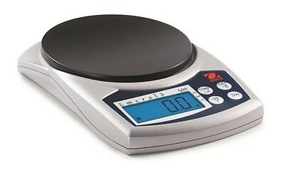 500 G x 0.1 G Ohaus JE500 Emerald Hand Held Portable Jewelry Scale NEW !!