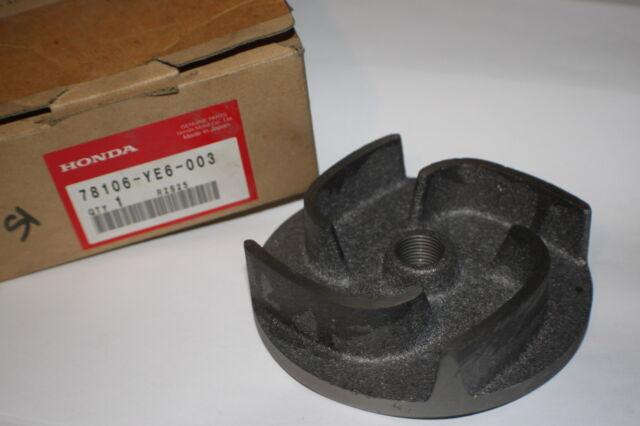 Honda WB30X Water Pump Impeller 78106-YE6-003 78106YE6003