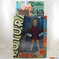 Futurama Zapp Brannigan Toynami Series 2 Action Figure W/ Devil Build-a-bot Part