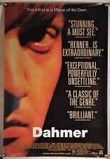 DAHMER ROLLED ORIG 1SH MOVIE POSTER JEREMY RENNER SERIAL KILLER HORROR (2002)