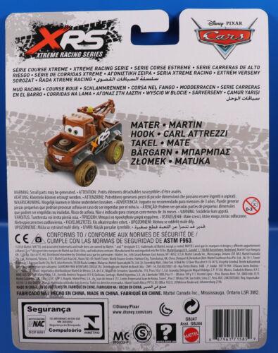 Disney Cars boue Course XRS Xtreme Racing Série gbj47 Mater