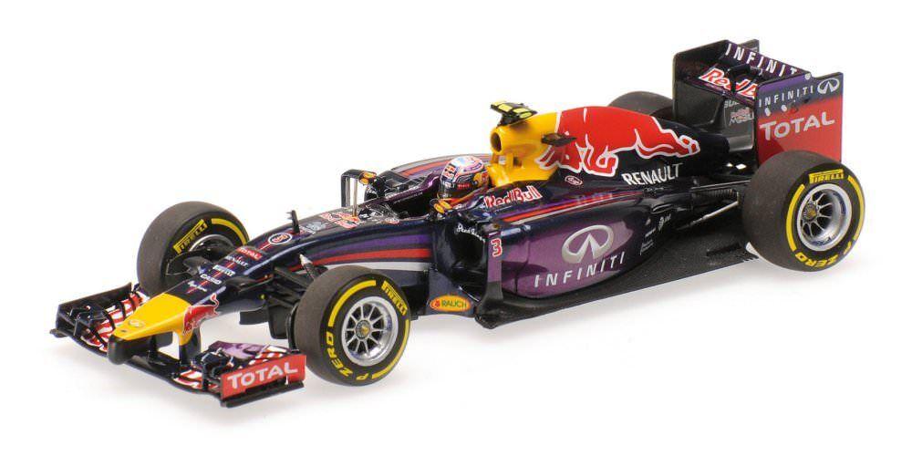 Minichamps 410140103 Infiniti Red Red Red Bull Racing RB10 Ricciardo 2014 1 43 NEU OVP d2cc51