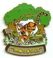 TIGGER In WOODS SEASONAL SERIES SPRING Is IN THE AIR  LE 5000 DISNEY PIN