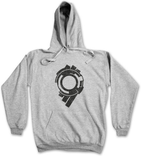 SECTION 9 LOGO HOODIE Logo Sign Ghost Movie in the Hanka Public Security Shell