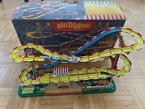 Blechspielzeug Technofix Big Dipper Achterbahn 316 in OVP
