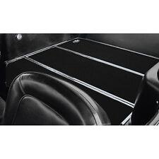 3527 66 801 Mustang ACC Fold Down Seat Carpet Cut Pile Black Fastback 1965-1968
