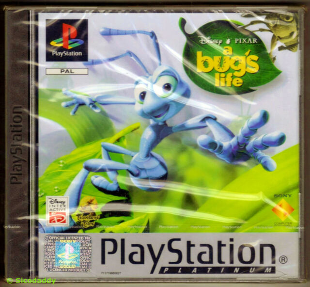 PS1 A Bug's Life Platinum, UK Pal, Brand New & Sony Factory Sealed