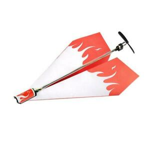 QZO-Electronic-Paper-Plane-Mold-Toy-Chargeable-Motor-Remote-Control-Power-Toy