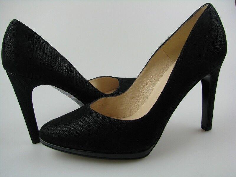 Clásica y elegante zapatos de Peter emperador cuero cuero cuero negro Gr. 4,5  salida para la venta
