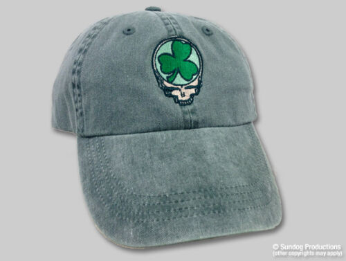 Shamrock Grateful Dead green Baseball Cap-Perfect for Dead /& Company shows