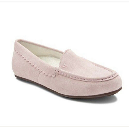 Details about  /New Vionic Haven Mckenzie Slipper Moccasin Pink Flat shoe size 10