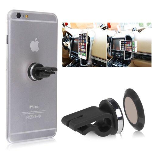 Tablet Car Air Vent Clip On Magnetic Mobile Phone GPS Dash Holder Mount Kit