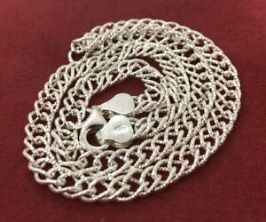 Vintage-Sterling-Silver-Necklace-925-16-Italy-Chain