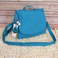 New Kipling Kichirou Lunch Crossbody Bag Cool Blue