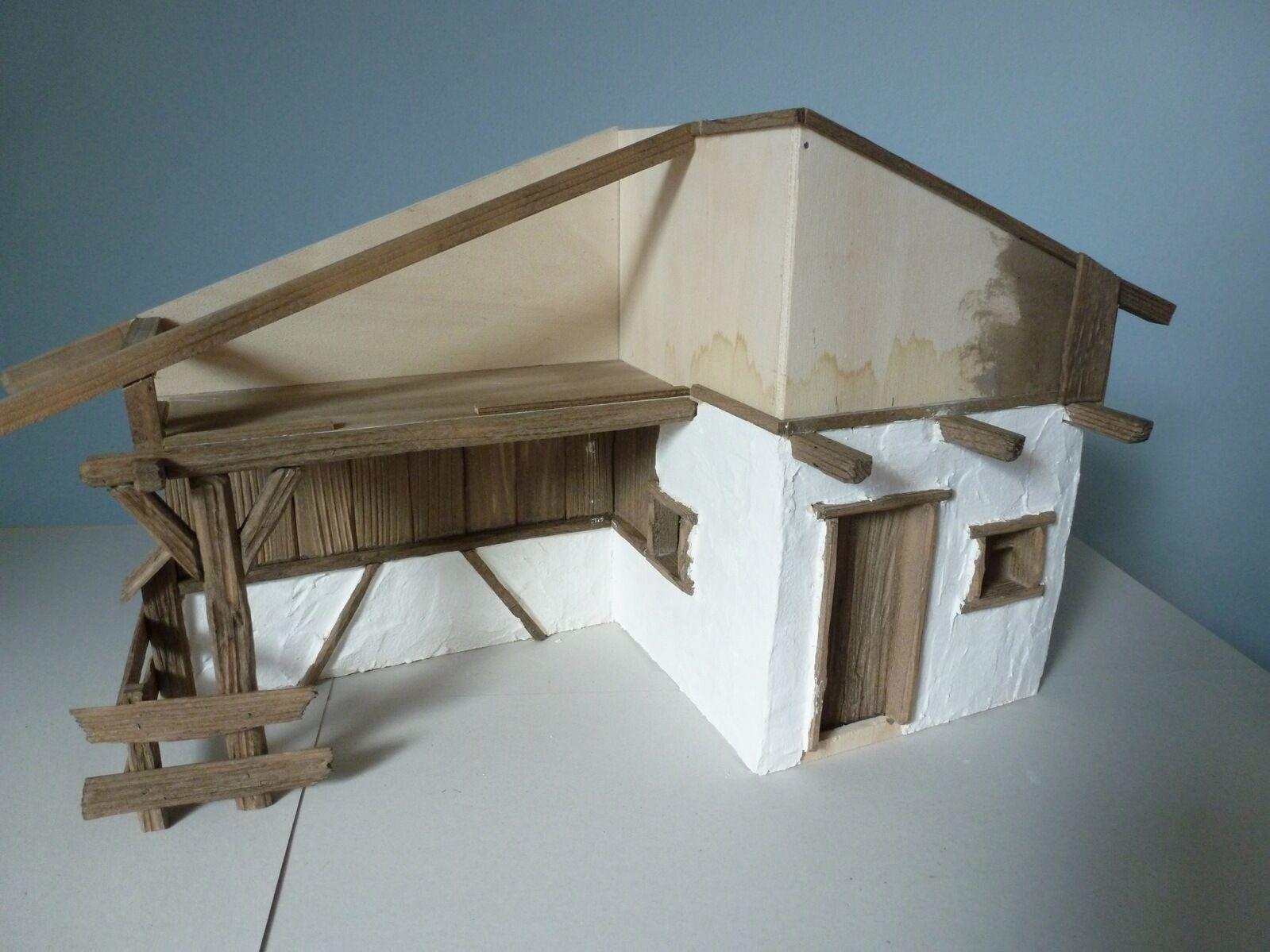 Krippenbausatz   Krippe Almbach Almbach Almbach   Bausatz zum Krippe selber bauen   ohne Deko 883a4c