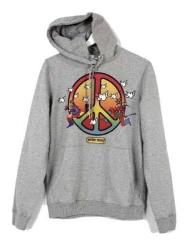 Wrangler Peter Max Peace Hoodie Limited Edition Si
