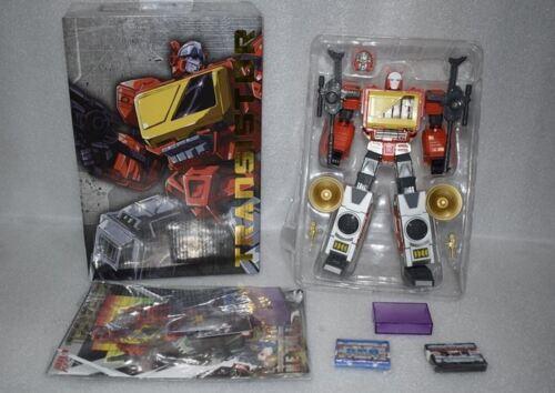 NUOVO Transformers KFC GIOCATTOLI PISTOLE MITRAGLIATRICI proporzione Blaster a transistor Figura in magazzino