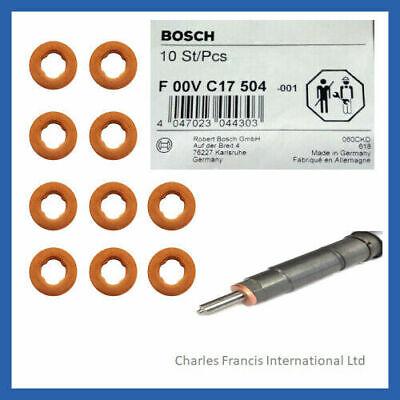 Fiat Qubo 1.3 D Multijet Bosch Common Rail Diesel Injector Washers Seals x 4