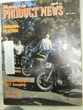 Motorcycle Product News, April 1988, Polaris Charges ATV Dumping,   Blue box 2