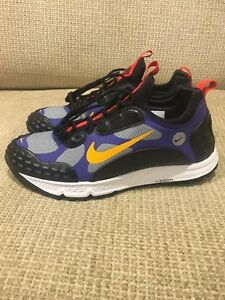 best service acdf5 0d87c Image is loading Nike-Air-Zoom-Albis-16-Black-Taxi-Concord-