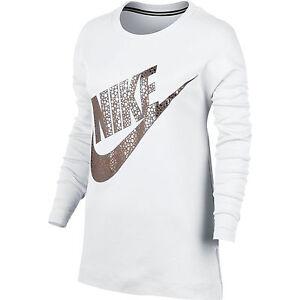 Details Zu Nike Damen Pulli Sweater Pullover Weiß Rose Gold Grxs Grxl