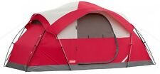 8-Person Tent Waterproof WeatherTec Instant Camping Hiking Outdoor Coleman