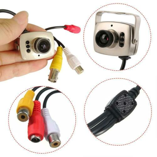IR Wired CCTV Mini Camera Security Color Night Vision Infrared Video Record AO