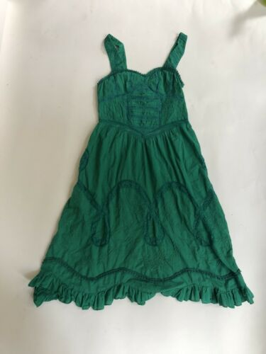Vintage Green Free People Dress - image 1