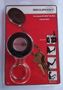 SecuriKey-Heavy-Duty-Keyring-KEY-BAK-Key-Badge-Reel-24-034-Stainless-Steel-Chain