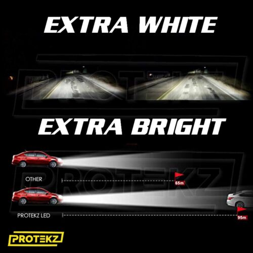 Protekz LED Kit Light Bulbs H11 100W 30000LM for Chevrolet Impala Malibu Colorad