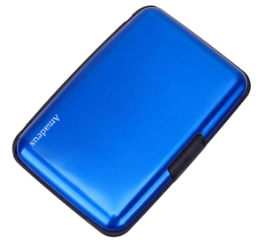 RFID-Aluminium-Brieftasche-Kreditkartenhalter-Kartenetui-Metall-ID-Etui-Amadeus
