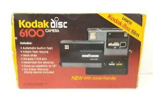 📸Vintage Kodak Disc 6100 Close-Up Lens Camera W/ Original Box & Unused Lanyard!